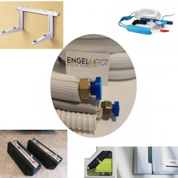 Montagematerial montage klimaanlagen kupferrohr for Klimaanlage inkl montage
