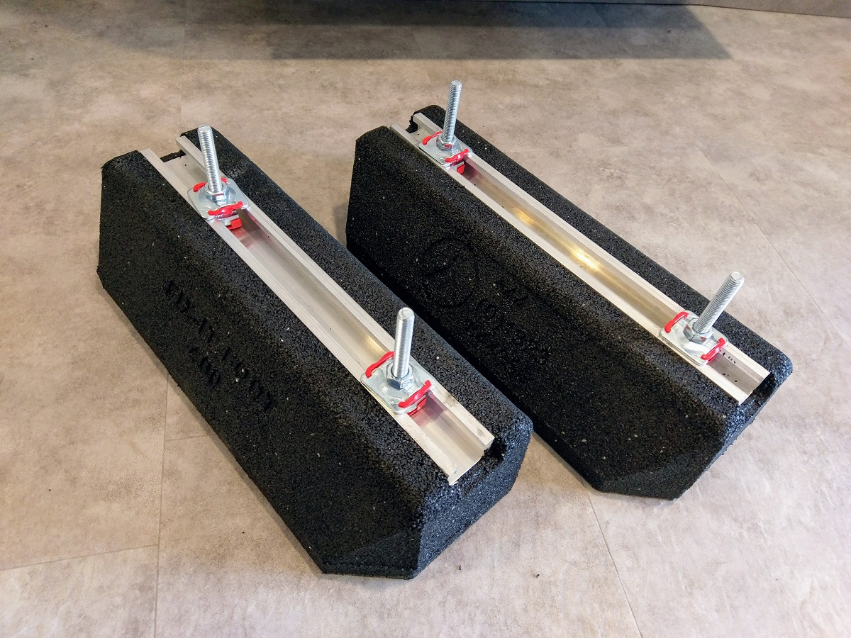 2 x bigfoot fix it foot bodenkonsole 400 set mit schrauben engelhardt k lte klima gmbh. Black Bedroom Furniture Sets. Home Design Ideas